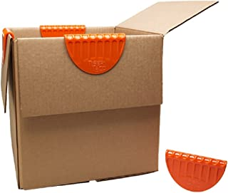 Tiger Taco, Box Flap Holders, Makes Packing and Unpacking Boxes Easy (Plastic, Set of 4)