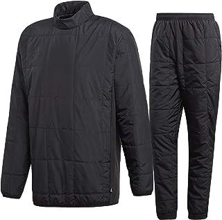 アディダス(adidas) TANGO CAGE ウォームトップ(中綿)&ウォームパンツ 上下セット(ブラック/ブラック) EUV33-CZ3980-EUV51-CW7436