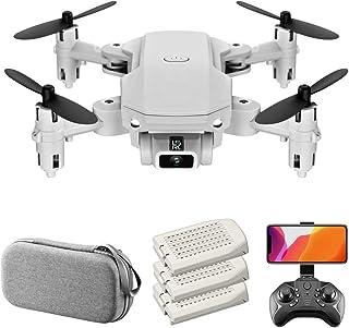Mobiliarbus LS-MIN RC Mini Drone Cámara 4K 13mins Tiempo de