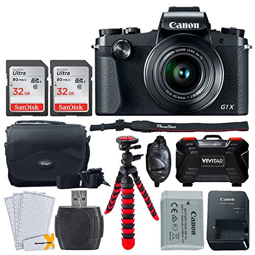 Canon PowerShot G1 X Mark III Digital Camera - Bundle