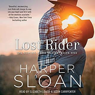 Lost Rider audiobook cover art
