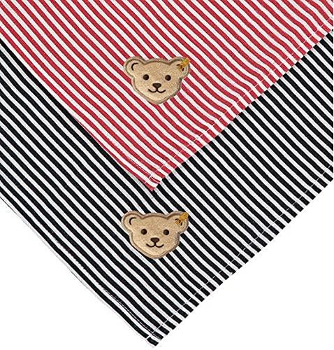 Steiff Mullwindel 2er Pack Pañal de Muselina, Paquete de 2, Navy, One Size para Bebés
