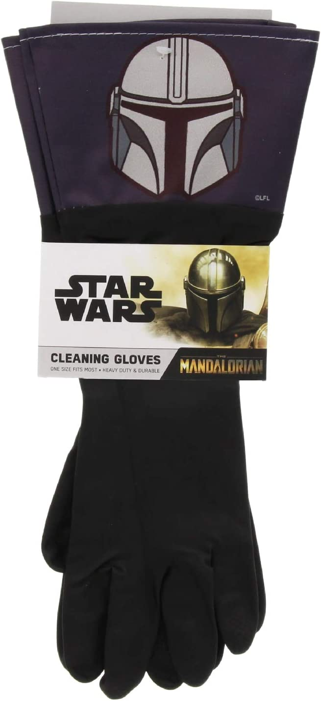 Disney Max 77% OFF Star Wars The 100% quality warranty! Mandalorian Cleaning Manda Pair Gloves 1 -