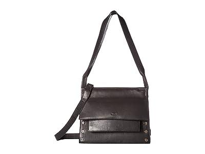 Hammitt AJ (Black/Gunmetal) Handbags