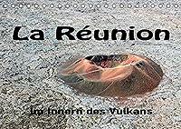 La Réunion, Im Inneren des Vulkans (Tischkalender 2022 DIN A5 quer): Der Piton de la Fournaise auf La Réunion ist einer der aktivsten Vulkane der Erde (Monatskalender, 14 Seiten )