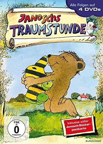 Janoschs Traumstunde - 4 DVDs im Schuber inkl. Janosch-Stickerpostkarte
