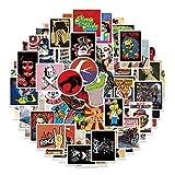 Ncheli 100 pcs Pegatinas Vsco,Etiqueta de Moda Pegatinas Paquete de Pegatinas Paquete de Pegatinas para Computadora Portátil para Laptop, Coche, Maleta, Casco Bicicleta, Bicicleta