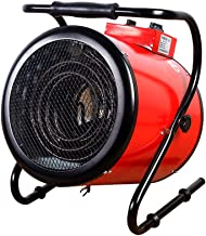 MAHZONG Radiador eléctrico 3000W Calentador Industrial For Vivir Garaje Habitación, Oficina, Calefacción Oficina, Salida De Aire Ajustable, Con Control De La Temperatura Constante Totalmente Ajustable