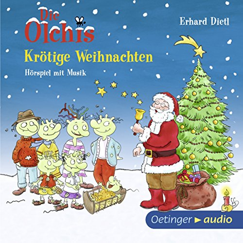 Krötige Weihnachten audiobook cover art