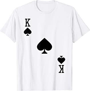 King of Spades Costume T-Shirt Halloween Deck of Cards