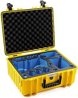 B & W transportkoffer outdoor voor DJI FPV Combo drone type 6000 geel - waterdicht conform IP67 certificering