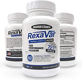 Rexavar Male Enhancement Supplement by RexaVar
