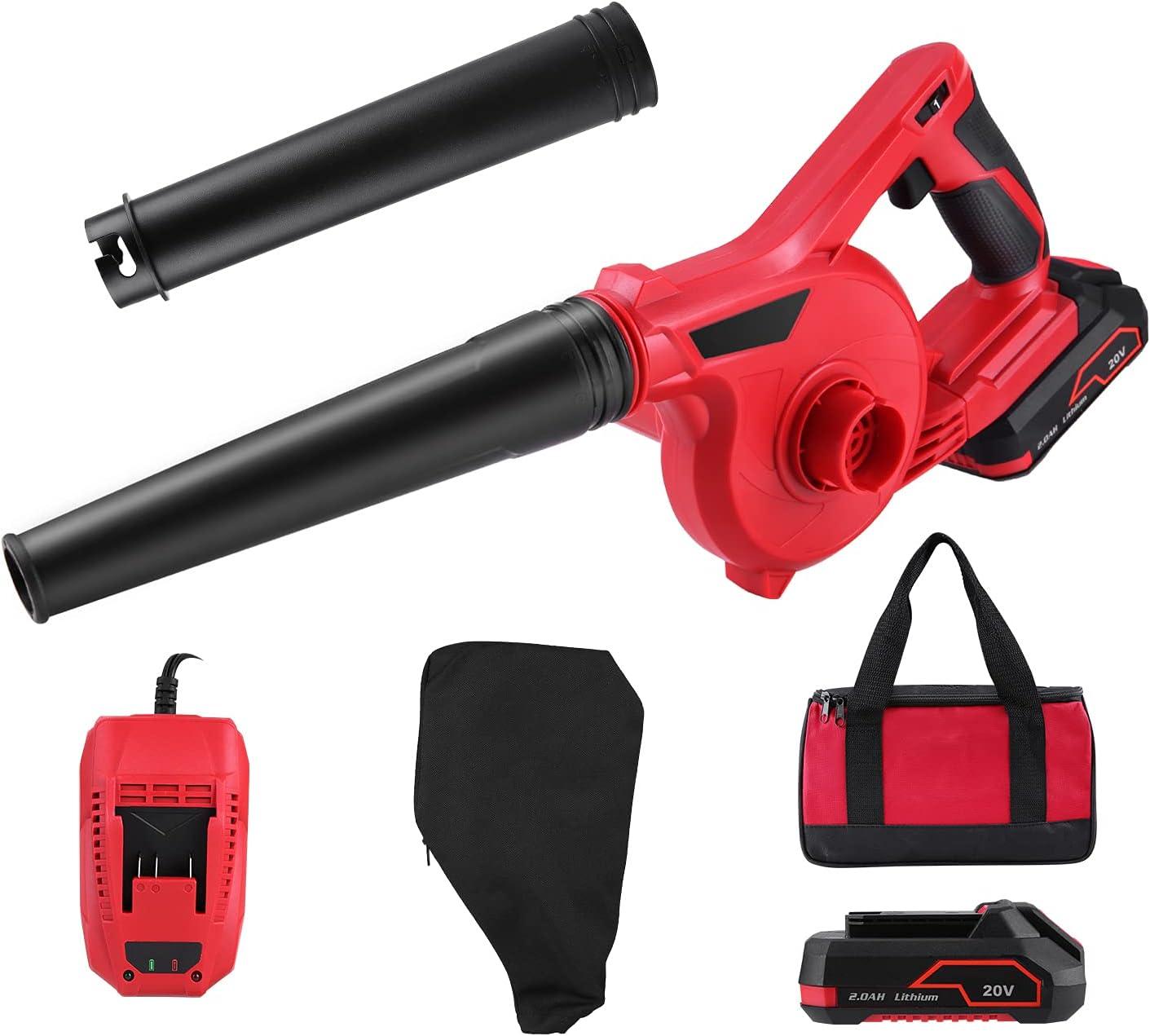 Leaf Blower 20 V sale Cordless Lightweight 3 with famous Variabl Kit