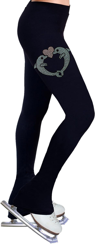Ny2 Sportswear Figure Skating Practice Pants with Rhinestones R157