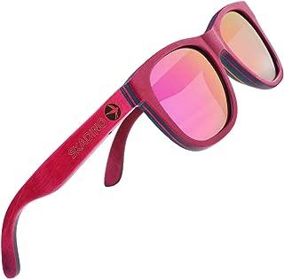 Bamboo Sunglasses with Polarized lenses-Handmade Wood Shades for Men&Women