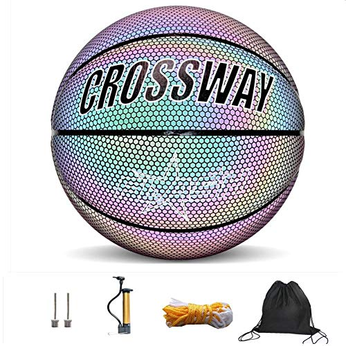 Best Prices! benefit-X Basketball, Light Up Basketball, Glow in The Dark Basketball, Professional Lu...