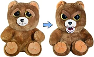 Feisty Pets Sir Growls-A-Lot- Adorable Plush Stuffed Bear that Turns Feisty with a Squeeze, 8.5