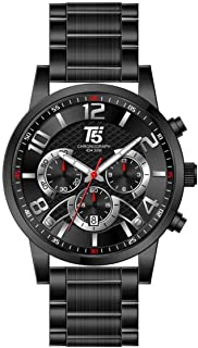 T5 Casual Watch For Men Analog Stainless Steel - H3523G