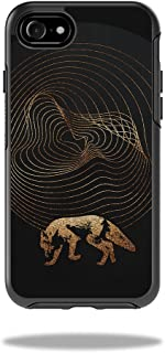 MightySkins Skin Compatible with OtterBox Symmetry iPhone 8 - Golden Path | Protective, Durable, and Unique Vinyl Decal wrap Cover | Easy to Apply, Remove, and Change Styles | Made in The USA