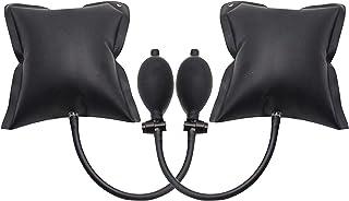 Juego de 2 cojines de montaje, coche/cuña/Shimano/tope/palanca/palanca, tensor neumático Air Wedge Pump Wedge, herramienta de alignación hinchable Shim Air herramientas de alta potencia acolchadas.