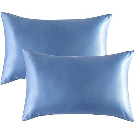Keeps Hair In Place While Sleep 1X Soft Silk Satin Pillowcase.The Hair keeper