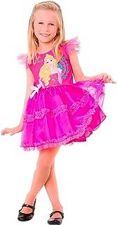 Regina 108018.0, Fantasia Princesa Bela Adormecida Pop, Multicor