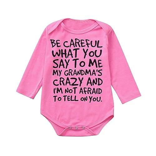 388ec7bcf squarex Infant Baby Kids Girl Boy Print Romper Jumpsuit Outfits Sunsuit  Clothes