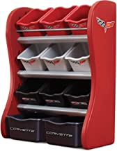 Step2 Corvette Room Organizer, Red 824001