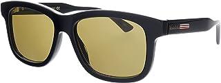 نظارة شمس غوتشي GG0824S 006 نظارة شمسية رجالي لون أسود بني مقاس 55 ملم