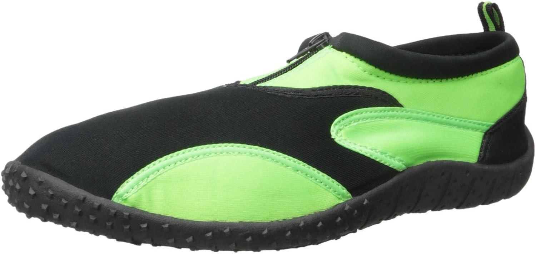 Rockin Footwear Men's Aqua Fire Rubber Water shoes