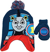 Thomas the Tank Engine Little Boys' Hat and Mittens Cold Weather Set