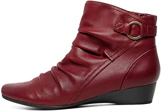 Supersoft Reuben-SU Womens Shoes Wedge Boots