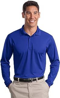 Sport-Tek Men's Long Sleeve Micropique Sport Wick Polo