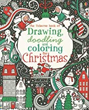 The Usborne Book of Drawing, Doodling and Coloring for Christmas (Activity Books)