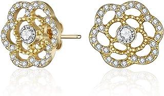 Mestige Hoop Earrings, Gold - MSER3041