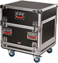 Gator Cases G-TOUR Series ATA Style Modular Audio Console Rack; 14U Top, 6U Side (G-TOUR-GRC-1406)
