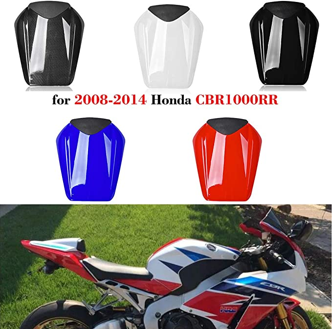 Soziussitz f/ür Honda CBR 600//1000 RR Fireblade 03-07 Beifahrersitz schwarz