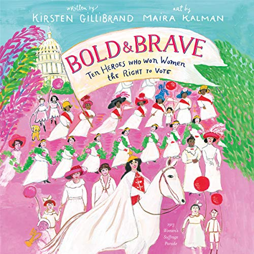 Bold & Brave audiobook cover art