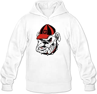 Matthew Macadam Man UGA Georgia Bulldogs Power Mascot Logo Sweatshirts