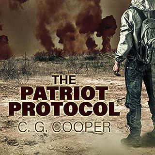 The Patriot Protocol audiobook cover art