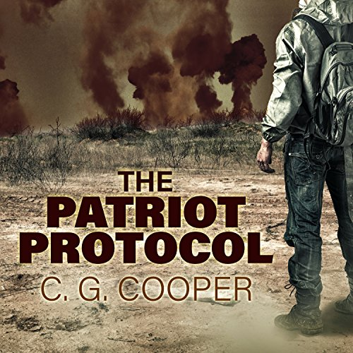 The Patriot Protocol audiobook cover art