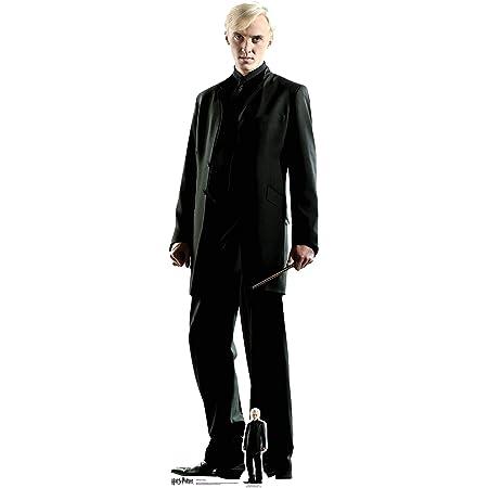 Recorte de cartón de Draco Malfoy de Harry Potter (178 cm de altura)