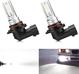 Marsauto H10 9145 9140 Led Fog Light Bulb 9045 9040 Led Lamp High Power CSP-Y11 Super Bright Cool Xenon white 5500-6500K Halogen Replacement Bulb for Fog Light Lamps or DRL 2Pack