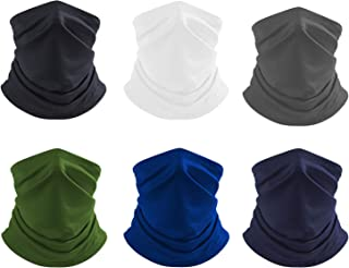 KINDEEP Face Scarf Cover, Neck Gaiter, Summer Protection from Sun, Surf, Wind, Headband Bandana for Outdoor Sport
