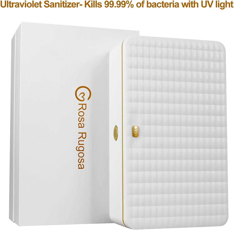 KMESOYI Ultrapurple (UV Light) Sanitizer Sterilize Box for Cellphone, Pacifier, Toothbrush, Makeup Brushes, Salon Tools, Tableware