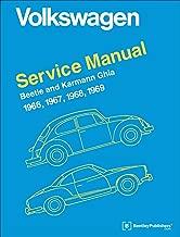 Volkswagen Beetle and Karmann Ghia Service Manual, Type 1: 1966, 1967, 1968, 1969