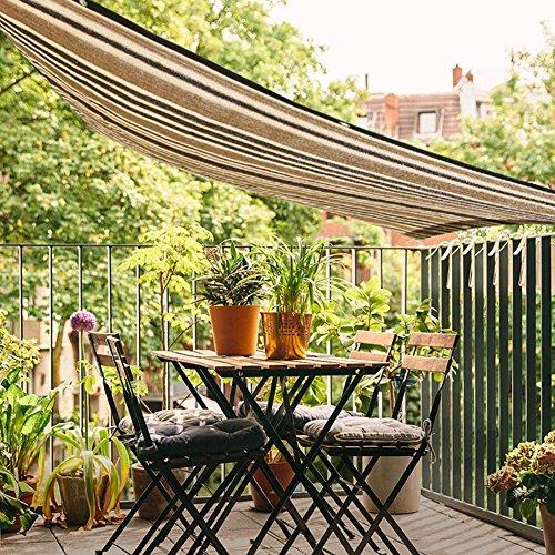 XYLUCKY Rectangle Soleil Voile Ombre Auvent UV Block Top Couverture Extérieure Patio Jardin,0.9 * 1.35M