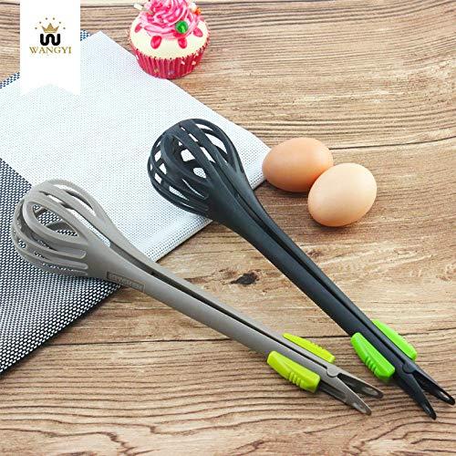 Dualpurpose eierklopper, Multifunctionele Food Clip Handmatige Mixer, Bakgereedschap Keuken Gadgets 2pcs (Nederlands)