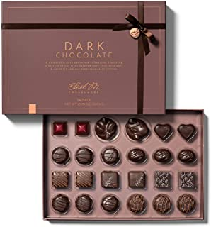 Sponsored Ad - Ethel M 24 Pc Assorted Dark Chocolates Box Collection - Chocolate Box Luxury Selection, Premium Assorted Gi...