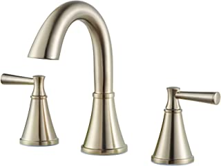Pfister LF-049-CRKK-R Cantara 8 in. Widespread 2-Handle High-Arc Bathroom Faucet in Brushed Nickel (Certified Refurbished)